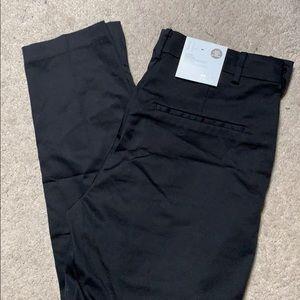H&M women slacks regular waist ankle length 10